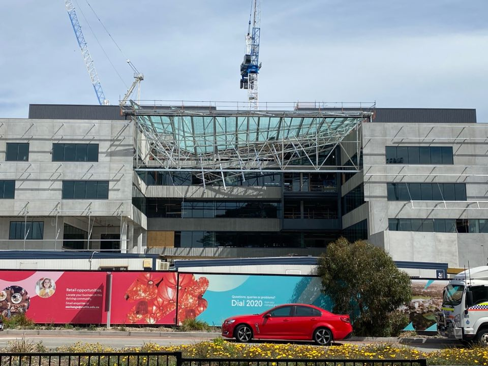 Download Curtin University Roof Collapse Background